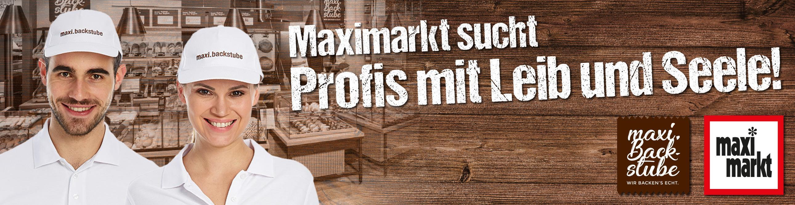 Bäcker für unsere maxi.backstube (m/w/d)